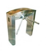 T250 A  MAKiM egypt Turnstile MAKiM Gates 3 Armed Half Height Turnstiles
